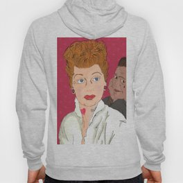 Lucy and Ricky Modern Hoody