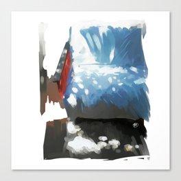 Sunny sofa Canvas Print