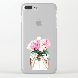 Spring | Botanical Illustration Clear iPhone Case