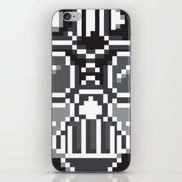 Darth Vader pixel art iPhone Skin