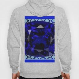 BLUE  SAPPHIRE DECEMBER GEM BIRTHSTONE MODERN ART Hoody