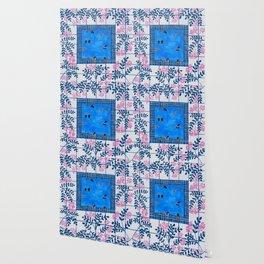 Sorrento Poolside Wallpaper