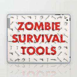 Zombie Survival Tools - Pattern 'o tools Laptop & iPad Skin