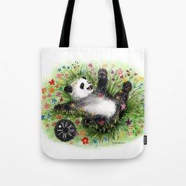Pandamie - PandaFlowerPower Tote Bag
