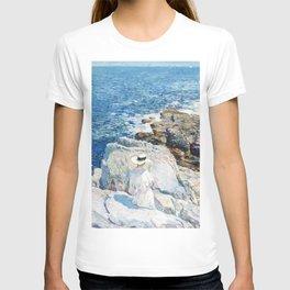 12,000pixel-500dpi - Frederick Childe Hassam - The South Ledges, Appledore - Digital Remastered T-shirt