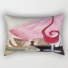Breaking Bread Rectangular Pillow