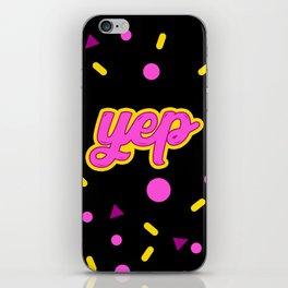 YEP iPhone Skin