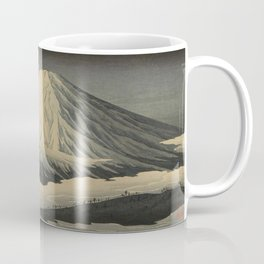 Shotei Takahashi Four Seasons of Mount Fuji Near Omuro Kawase Hasui Japanese Woodblock Print Coffee Mug