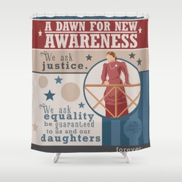 A Dawn for New Awareness Shower Curtain