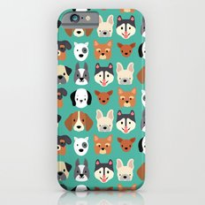Dogs Dogs Dogs iPhone 6s Slim Case