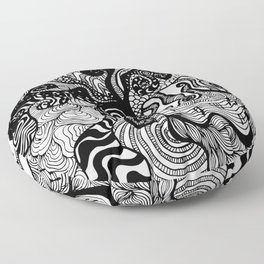 hypnotised Floor Pillow