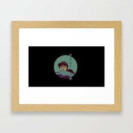 Rock Lee Jutsu Framed Art Print