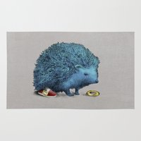sonic Area & Throw Rugs featuring Sonic (color option) by Eric Fan