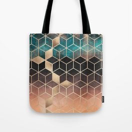 Ombre Dream Cubes Tote Bag