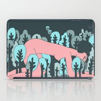 forrest iPad Cases featuring forrest by Regina Rivas Bigordá