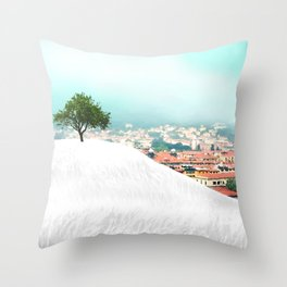 Beyond the Hill Throw Pillow