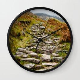 The Pony Trail Wall Clock