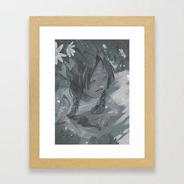 something Framed Art Print