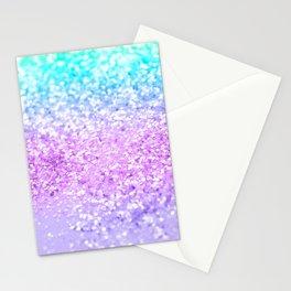 Unicorn Girls Glitter #9 #shiny #decor #art #society6 Stationery Cards