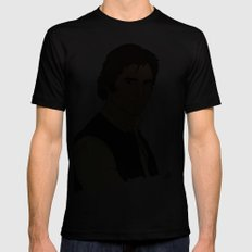 Han Solo Mens Fitted Tee Black SMALL