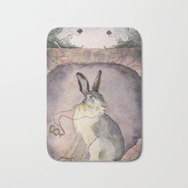 Down the Rabbit Hole Bath Mat