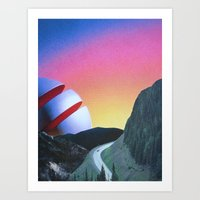 trip Art Prints featuring Trip by Djuno Tomsni
