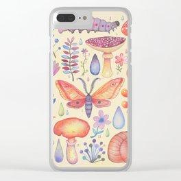 Et coloris natura IV Clear iPhone Case
