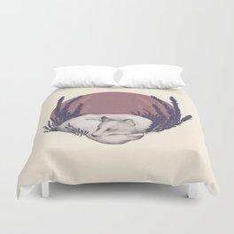 Fox & Lavender Duvet Cover