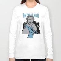 luke hemmings Long Sleeve T-shirts featuring Luke Skywalker by Szoki