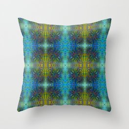 Tryptile 17b (Repeating 2) Throw Pillow