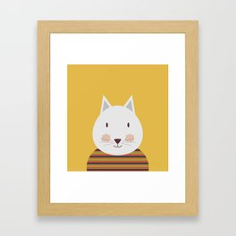 Cornelio Cat Framed Art Print