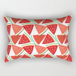 Sliced Watermelon Rectangular Pillow