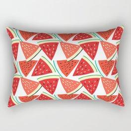 Sliced Watermelon Rectangular Pillow