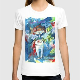 Fly over the world T-shirt