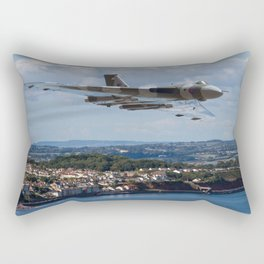 Vulcan Bomber XH558 Dawlish 2015 Rectangular Pillow