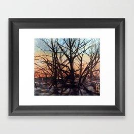 Golden Rays 1 Framed Art Print