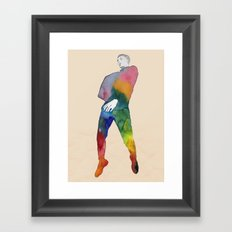 One Two Three - JUMP Framed Art Print