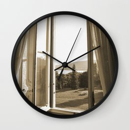 Another window in Tuscany Wall Clock