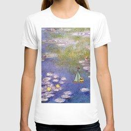 Snoopy meets Monet T-shirt