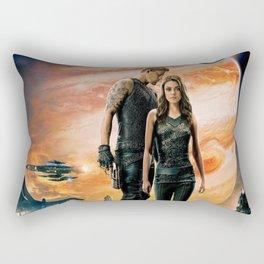 Jupiter Ascending Channing Tatum Mila Kunis digital movies Rectangular Pillow