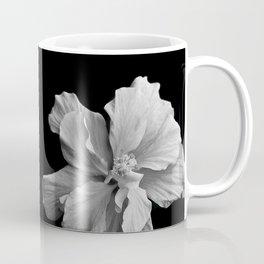Hibiscus Drama - Black and Grey Coffee Mug