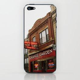 Orange Garden ~ chop suey to take home! iPhone Skin