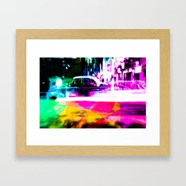 I Took A Pill Framed Art Print
