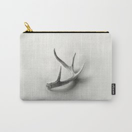 Lost and Found - Deer Antler Pencil Drawing Carry-All Pouch