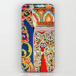 Tibetan Buddhist Monastery Architectural Details iPhone Skin