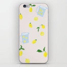 I wish I had a lemon tree iPhone Skin