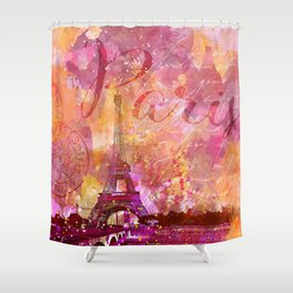 If you love Paris Shower Curtain