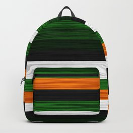 Orange and Green Patchwork 2 Backpack