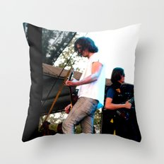 Nick Valensi - The Strokes Throw Pillow