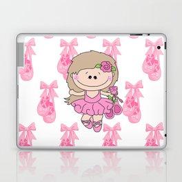 Little Ballerina in Pink Laptop & iPad Skin